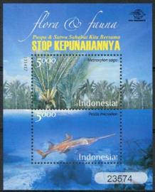 Indonesie, zbl. blok 329, xx