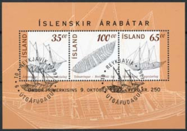 IJsland, michel blok 20, o