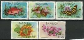 Barbuda, michel 425/29, xx
