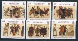 Alderney, michel 496/01, xx