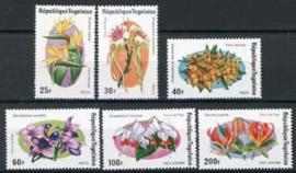 Togo, michel 1079/84, xx
