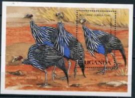 Uganda, michel blok 121, xx