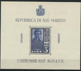 San Marino , michel blok 2 , xx