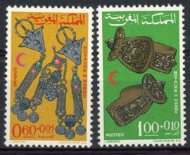 Marokko, michel 586/87, xx