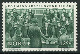 Noorwegen, michel 967, xx