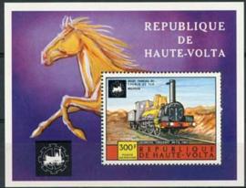 Haute Volta, michel blok 32, xx