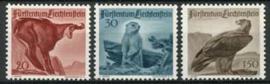 Liechtenstein, michel 253/55, x