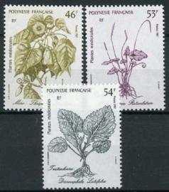 Polynesie, michel 485/87,xx