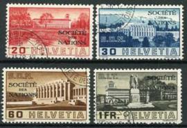 Zwitserland, michel vn 57/60, o