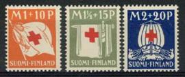 Finland, michel 158/60, xx