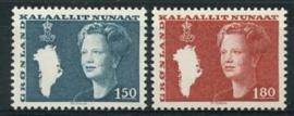 Groenland , michel 134/35 , xx