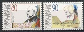 Liechtenstein, michel 1013/14, xx