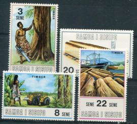 Samoa, michel 232/35, xx