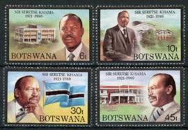 Botswana, michel 277/80, xx