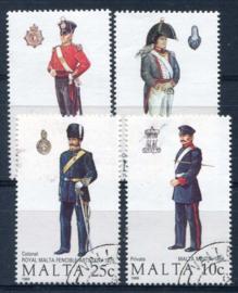 Malta, michel 818/21, o