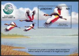 Lesotho, michel blok 97, xx