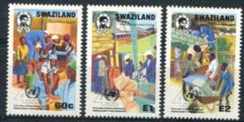 Swaziland, michel 575/77, xx