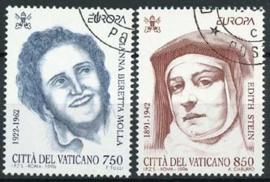 Vaticaan, michel 1179/80, o