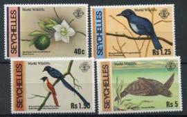 Seychelles, michel 422/25, xx