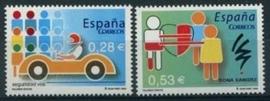 Spanje, michel 4025/26, xx