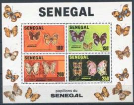 Senegal, michel blok 41, xx