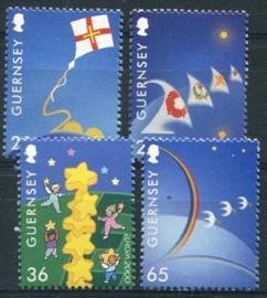 Guernsey, michel 851/54, xx
