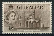 Gibraltar, michel 145, x
