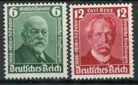 Duitse Rijk, michel 604/05, xx