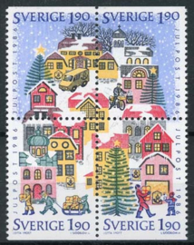 Zweden, michel 1409/12, xx