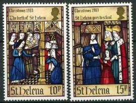 St.Helena, michel 387/88, xx