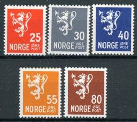 Noorwegen, michel 319/22, xx