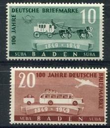 Baden, michel 54/55, xx