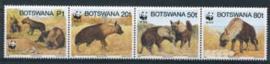 Botswana, michel 586/89 strip, xx