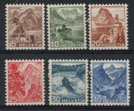 Zwitserland, michel 500/05, xx