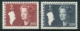 Groenland , michel 155/56 , xx