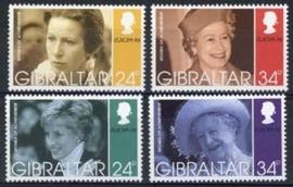 Gibraltar, michel 755/58, xx