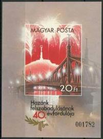 Hongarije, michel blok 177 B, xx