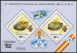 Hongarije, michel blok 155 A, xx