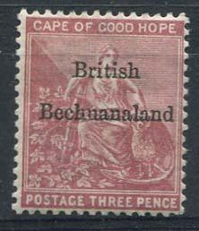 Bechuanaland, michel 5 , x