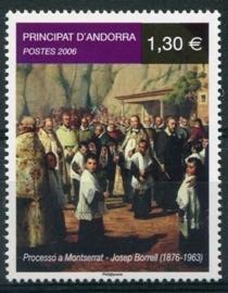 Andorra Fr., michel 652, xx