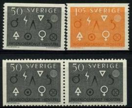 Zweden, michel 506/07,xx