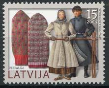 Letland, michel 623, xx