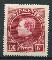 Belgie, obp 292 Parijs, xx