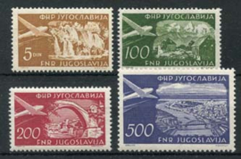 Joegoslavie, michel 689/92, xx