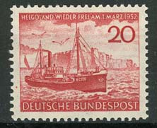 Bundespost, michel 152, xx