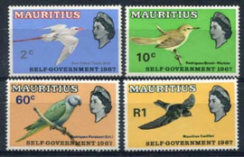 Mauritius, michel 294/97, xx