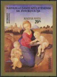 Hongarije, michel blok 164 B, xx