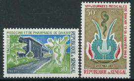 Senegal, michel 392/93, xx