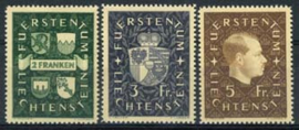 Liechtenstein, michel 183/85, xx