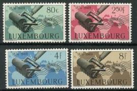 Luxemburg, michel 460/63, xx